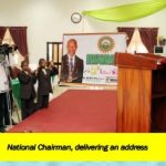 REPORT ON THE INVESTITURE OF NIMECHE 11th  NATIONAL CHAIRMAN, PROF ADISA ADEMOLA BELLO AND  INAUGURATION OF THE 2ND NSF PRESIDENT,COMR. PATRICK A. ANDREW