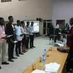 NIMechE Inaugurated the 2018 National Executive of NSF, its Students Wing