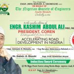Milestone as NSE Auchi to Honour COREN President Kashim Ali at Distinguished Lecture