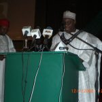 SPEECH DELIVERED BY ENGR. K.A. ALl, FNSE ON THE OCCASION OF HIS INVESTITURE AS THE 26TH PRESIDENT OF THE NSE