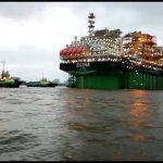 Finally, Egina FPSO sails to offshore field
