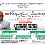 Highway Engineers Set for Inauguration of Engr Francis Oriakhi as 2nd chairman