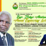 NSE brings  Israeli  Development  expert to share economic development tricks as it Honours Ife Akintunde