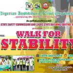 """Recreation and professionalism:  Civil Engineers plan """"Walk for Stability"""""""