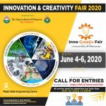2020 Innovation and Creativity Fair: Engineers call for Entry to submit their projects