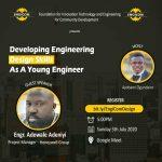 EngiCom TechMentors: Developing Engineering Design Skills As A Young Engineer by Engr Adewale Adeniyi