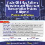 Webinar: Viable Oil and Gas Refinery Operations and Midstream Transportation System in Nigeria