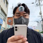 South Korean designer creates 'Third Eye' for 'smartphone zombies who can't take their eyes away from the screen