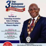 3rd Babagana Mohammed Annual Lecture to XRay the Role of Technology Incubation Hub to bridge Research-Industry Nexus