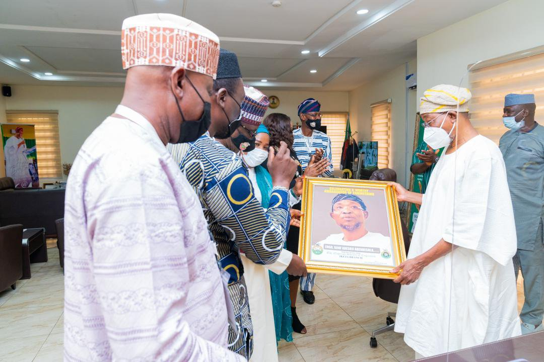 Minister of Interior,  Rauf Aregbesola hosts Ikeja Engineers; Tasks Engineers to develop homegrown technology solutions to address National Challenges