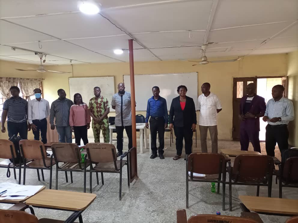 """NSE Otta Elects new Executive Members as Adewale George Sets Sight on Expanding Branch """"s reach"""
